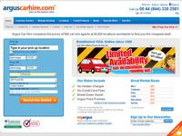 Car Hire from Argus