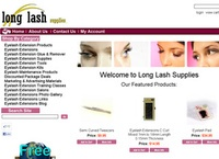 Eyelash Extensions - Long Lash Supplies