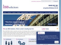IBB Solicitors, West London's leading law firm