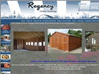 Wooden garages and timber garden storage buildings